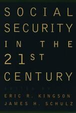 Social Security in the 21st Century, , 0195104250, Book, Acceptable
