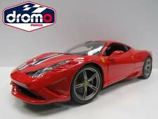 1/18 BURAGO - FERRARI 458 SPÉCIALE - BBURAGO COURSE- AND -PLAY