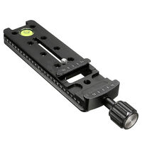 140MM Nodal Rail Slide Quick Release QR Clamp For Macro Panoramic Arca H4Y9