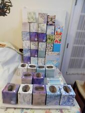 Lot of 38 Tissue Empty Boxes Cube Size & Other For Arts,Crafts &School Projects