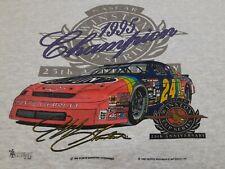 VTG 90s 1995 Jeff Gordon Winston Cup Champion Nascar Racing Sweatshirt Shirt XL