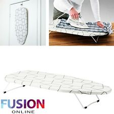 Mini Ironing Iron Board Funky Foldable Portable Compact Table Top Cover Laundry