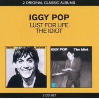 IGGY POP - CLASSIC ALBUMS (2IN1 LUST FOR LIVE & THE IDIOT) 2 CD NEW! ROCK POP