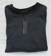 LADIES MARKS & SPENCER AUTOGRAPH NAVY TOP LONG SLEEVES WITH BOW DETAIL SIZE 12