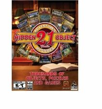 21 Classic Hidden Object Mysteries and Adventures (PC Games) - NEW™