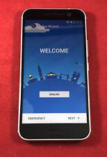 HTC 10 - 32GB - Glacier Silver Verizon Unlocked Smartphone GSM + CDMA Black
