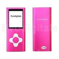NEW EVO 16GB PINK ELITE MP3 MEDIA MP4 PLAYER MUSIC VIDEO FM TUNER GAMES VOICE +
