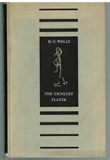 The Croquet Player by H.G. Wells 1937 1st Ed. Rare Vintage Book! $