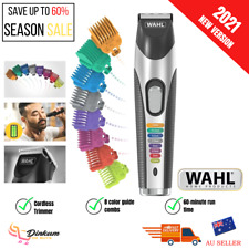 Wahl Beard Trimmer Clipper Grooming Kit Cordless Electric Rechargeable Mustache