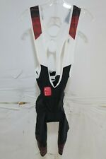 Louis Garneau Neo Power Art Motion Bib Shorts Men's XL Red $149.99