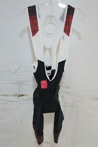 Louis Garneau Neo Power Art Motion Bib Shorts Men's Small Red $149.99
