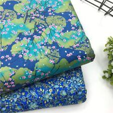 2PCS 40CM x 50CM Floral Pattern 100% Cotton Patchwork Fabric DIY Sewing Cloth