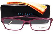 NEW TED BAKER LONDON B213 ROS DUSTY ROSE EYEGLASSES GLASSES 53-17-140 B32 w/Case