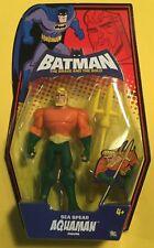 """BATMAN THE BRAVE & BOLD AQUAMAN Sea Spear 5"""" action figure DC UNIVERSE MATTEL"""