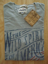 **75% OFF!!** WRANGLER Print T-Shirt / S / 100% Cotton / RRP £30