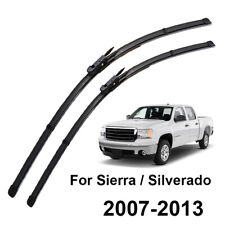 Front Windshield Wiper Blades Set For Chevrolet Silverado GMC Sierra 2007-2013