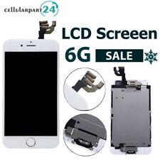 """LCD Display für iPhone 6 4.7""""mit RETINA LCD Vormontiert Weiss Original Glas"""
