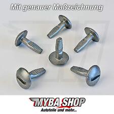 30x PASSARUOTA radhaus clip di fissaggio per PEUGEOT 206 307 406 607 807 7013j0