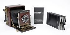 Refinished Graflex Speed graphic 4X5 Camera with 127mm lens + holders + FILM
