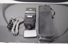 Nikon Speedlight SB-16 flash unit,with,difuser, case and SC-17 remote cord