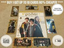 Panini HARRY POTTER Contact Cards, Numbers 1-140, Free Post, Genuine