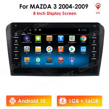 """2DIN 8"""" Android 10 Radio For 2004-2009 Mazda 3 Stereo GPS 4G Mirror Link +Canbus"""