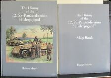 History of the 12. SS-Panzerdivision Hitlerjugend HB + Map Book Hubert Meyer NEW