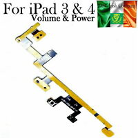 For iPad 3 4 Power Flex Cable With Volume Buttons And Mute Switch