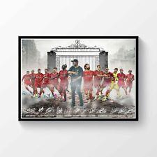 Liverpool FC Premier League Champions 2019 2020 Printed Signed Poster A4