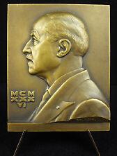 Médaille Gaston Milian médecin dermatologue Solution 1936 Hopital St Louis Medal