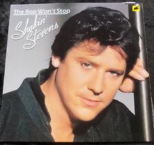 SHAKIN' STEVENS The Bop Won't Stop LP