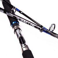 Boat Fishing Jigging Rod 1.8m 2.1m Lure 250g Carbon Fiber Saltwater Spinning Rod