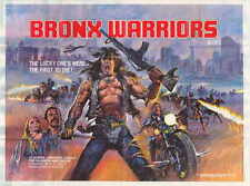 1990: THE BRONX WARRIORS Movie POSTER 27x40 B Vic Morrow Christopher Connelly