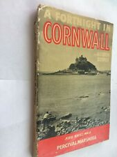 CORNWALL FORTNIGHT PHOTO TRAVEL GUIDE BOOK 1949 P MARSHALL G COOPER 5/-