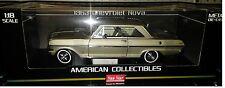 1963 CHEVY NOVA HARD TOP Diecast Car 9 inch SUN STAR 1:18 AMERICAN SS3967 GREEN