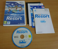 Wii Sports Resort - Nintendo Wii Game Complete With Manual FREE POST