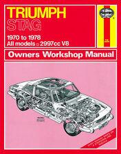 Triumph Stag - Reparaturanleitung workshop service manual Handbuch Buch book