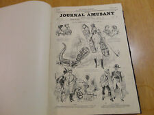reliure journal amusant 1870