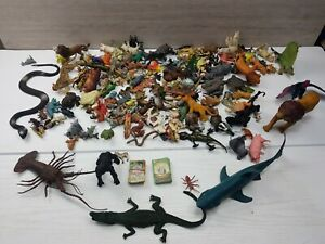 LARGE joblot Bundle Of Mixed Animal Toy Figures approx. 5KG!!! 90s