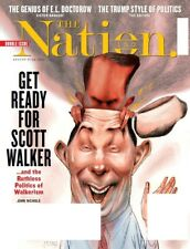 The Nation Magazine Aug 17/24 2015, Doctrow, Trump, Scott Walker, Ships Today!