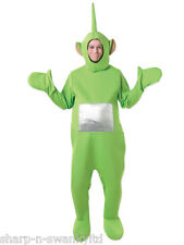 Mens Ladies Green Dipsy Teletubby Teletubbies Stag Do Fancy Dress Costume Outfit