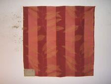 "Highland Court ""Floral Brocade"" floral novelty fabric remnant, color currant"