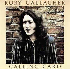 *NEW* CD Album Rory Gallagher - Calling Card (Mini LP Style Card Case)