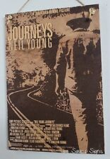 Neil Young Journeys Vintage Retro Music Movie Poster Sign Crosby Stills Nash