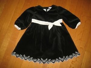 NWT Janie /& Jack FRENCH VOYAGE 18 24 M 4 6 Blossom Striped Top Black White