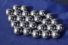 Glasbrecher Stahlkugeln Cal 50  25 Stück für Ram Waffen Kaliber 50 Steelballs