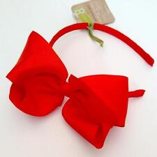 New Crazy 8 Gymboree Girls Bow Headband Color Orange Hair Accessory