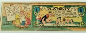 THIMBLE THEATRE LUCKY BUCK LONG WITH ADDED PLAY & INSTRUCTION