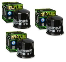 Hiflo Oil Filter Set Of (3) For Honda Shadow VT 1100 C 87-88 HF202