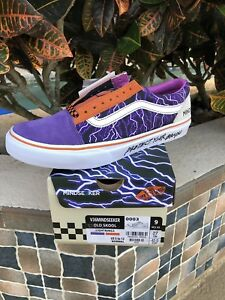 Mindseeker Complexcon Exclusive Old Skool Vans Size 9 Purple Lightning
